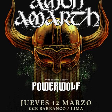 poster amon amarth powerwolf peru